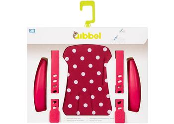 Qibbel stylingsset voorzitje Polka dot rood