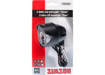Simson koplamp Truss 30 lux E-bike 6-60v