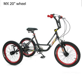 Mission MX 20inch 6-speed  driewieler
