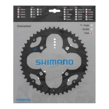 Chainring Fc-m411 48t Steel Black For Chainguard