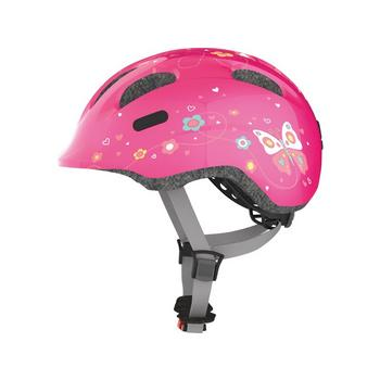 Helm abus smiley 2.0 pink butterfly