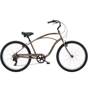 Electra Cruiser 7D Men's 26inch matte bark herenfiets