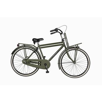 Burgers Pick-Up staal CB 50cm leger-groen Heren Transportfiets