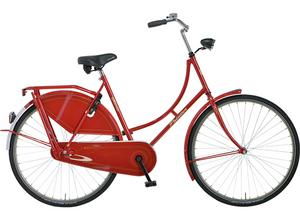 Pointer Glorie RVS rood 57cm Omafiets