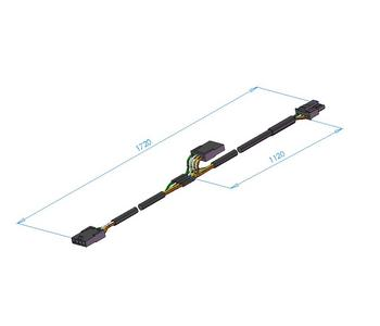 Kabelboom Ion Tmma/cu3 Molex 1620mm