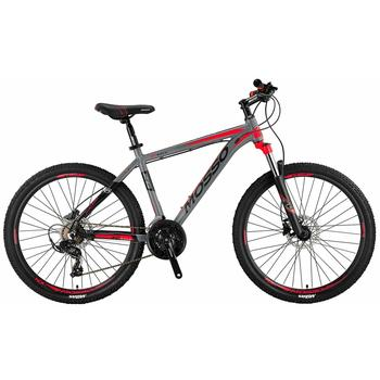 Mosso Wildfire 21-spd Hydr. Disc grey-red 26inch MTB