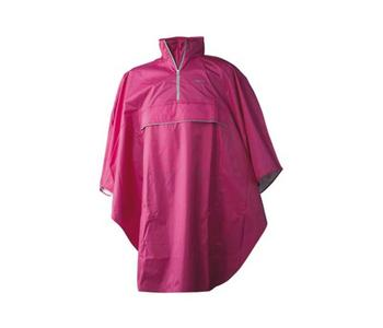 JACK TRACK PONCHO PURPLE ONE SIZE