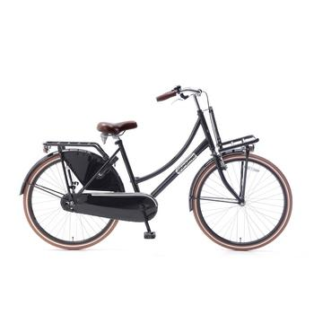 Popal Daily Dutch Basic 26inch glanszwart Transportfiets