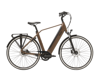 Qwic E-bike Premium i MN7+ Belt Heren Middenmotor Walnut