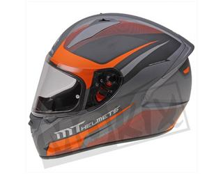Helm STINGER Divided MT Integraal 1 vizier Oranje mat  S, M, L, XL