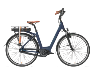 Qwic E-bike Premium MN7 Dames Middenmotor midnight blue