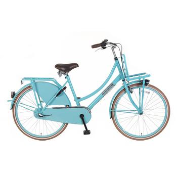 Popal Daily Dutch Basic Plus 26inch blauw Transportfiets