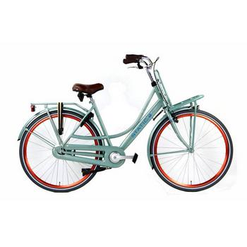 Static Mona mint-groen Dames transportfiets