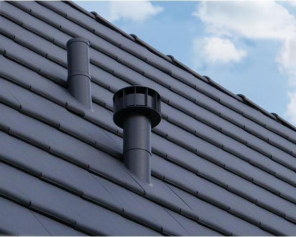 Dakdoorvoer Ventilatie Badkamer : Design mechanische ventilatie multivent Ø 131 750 mm colored roofs