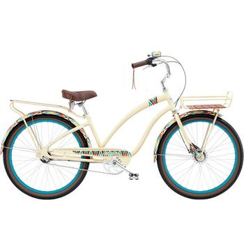 Electra Cruiser Tapestry 3i 26inch creme damesfiets