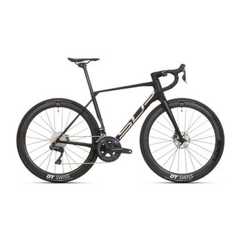 Superior X-Road Team Issue R Di2 zwart-chrome L Gravelbike