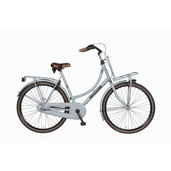 Burgers Pick-Up staal CB 50cm polar-blue Dames Transportfiets