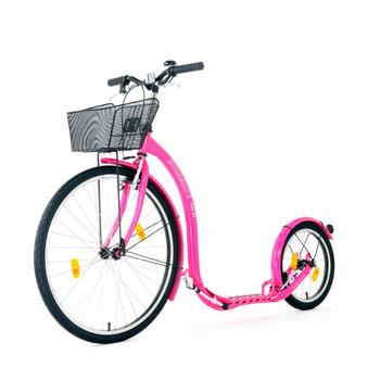 Kickbike City G4 roze step