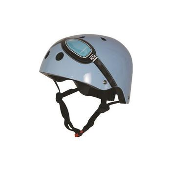 Kiddimoto blue goggle Medium helm