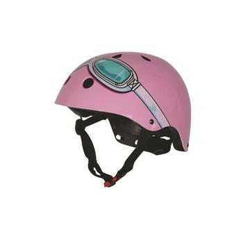 Kiddimoto pink goggle Medium helm