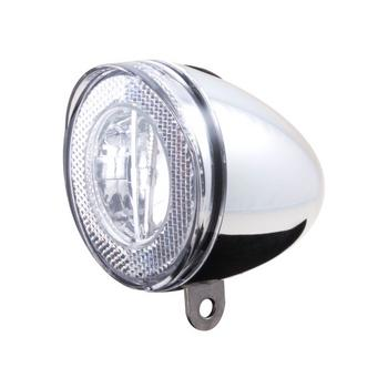 Cordo led koplamp swingo chroom incl. batterij
