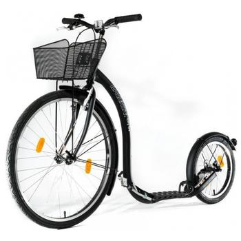 Kickbike City G4 zwart step