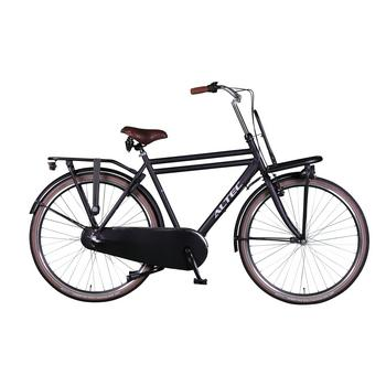 Altec Dutch N3 55cm mat-zwart Heren Transportfiets