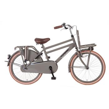 Popal Daily Dutch Basic 22inch grijs jongens transportfiets