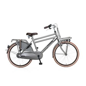 Popal Daily Dutch Basic Plus 24inch titanium Jongens Transportfiets