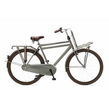 Popal Daily Dutch Basic 57cm titanium heren transportfiets