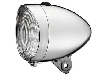 Union koplamp UN-4900 Retro Plus batt chr