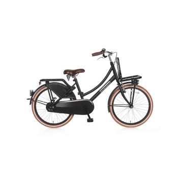 Popal Daily Dutch Basic 22inch matzwart Transportfiets