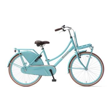 Popal Daily Dutch Basic Plus 26inch turquoise Transportfiets
