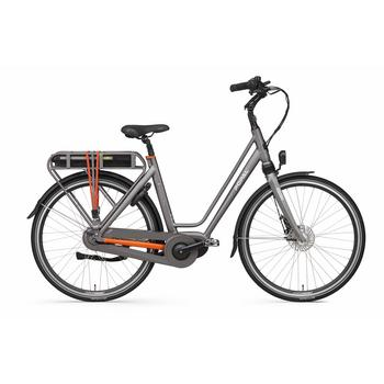 Popal E-volution 10 space-grey 49cm elektrische damesfiets