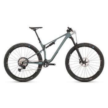 "Superior XF 999 TR Carbon groen-zwart L 29"" Full Suspension MTB"