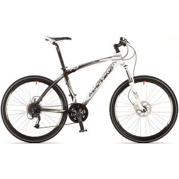 Rock Machine Typhoon 70 wit-zwart 50cm Mountainbike