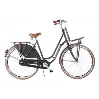 Rock Machine Classic 30 N7 zwart mat 50cm Dames Transportfiets