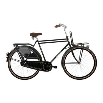 Hollandia Royal Dutch zwart-bruin 52cm Heren transportfiets