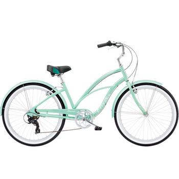 Electra Cruiser Lux 7D 26inch sea green metalic damesfiets
