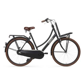 Popal Daily Dutch Basic Plus 50cm matzwart Transportfiets