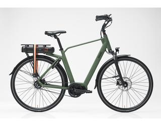 Qwic E-bike Premium MN8Belt Heren Middenmotor Army Green