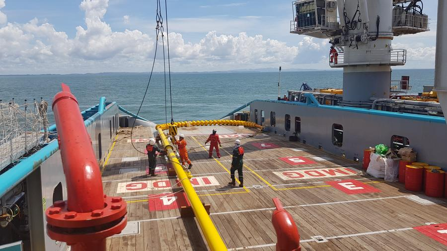 Airborne Oil & Gas and SÍMEROS collaborate to qualify dynamic deepwater TCP Risers in Brazil