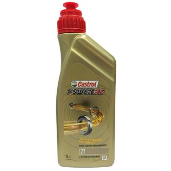 Castrol 2T Power Rs Olie 100% Synt. 1-Liter (Tts)