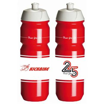 Kickbike Bio Bottle 750ml Rood