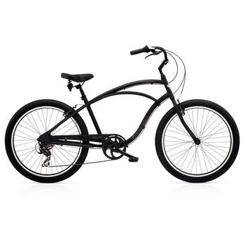 Electra Cruiser Lux 7D 26inch black herenfiets