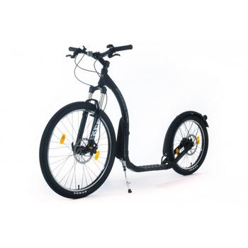 Kickbike Cross Max 20HD+ zwart step