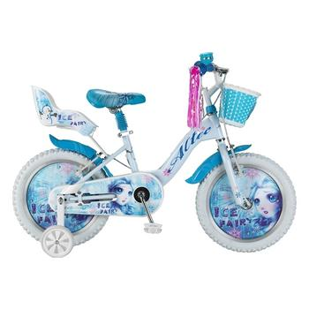 Altec Ice Fairy 16inch wit-blauw meisjesfiets