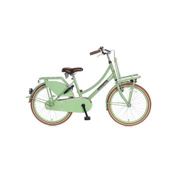 Popal Daily Dutch Basic 22inch pistache groen Transportfiets
