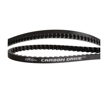 Gates CDX belt Carbon Drive 128 tands zwart