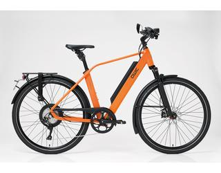Qwic E-bike Performance RD11Speed Heren Achterwielmotor Dutch Orange